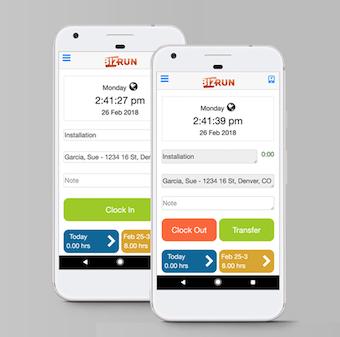 Mobile timekeeping