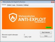 Malwarebytes Endpoint Security - Anti-exploit agent