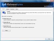 Malwarebytes Endpoint Security - Malware scan