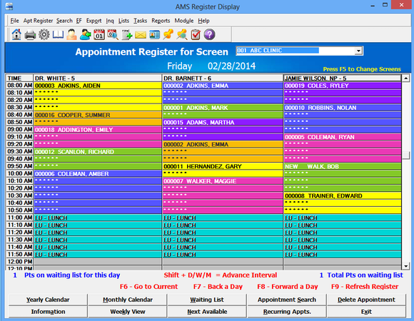 Easy-to-Use Appointment Scheduling
