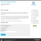 AppFolio Property Manager - Online rental application