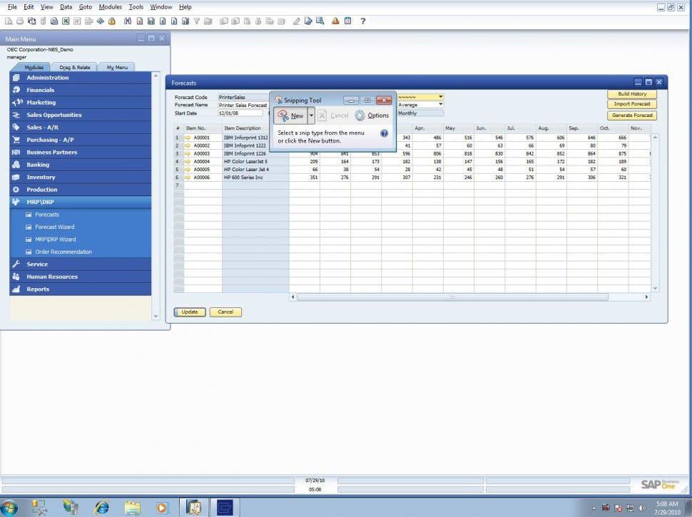 SAP S/4HANA Finance - Forecasts