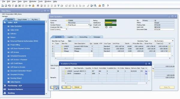 Vista Auto Sales >> SAP S/4HANA Software - 2020 Reviews, Pricing & Demo