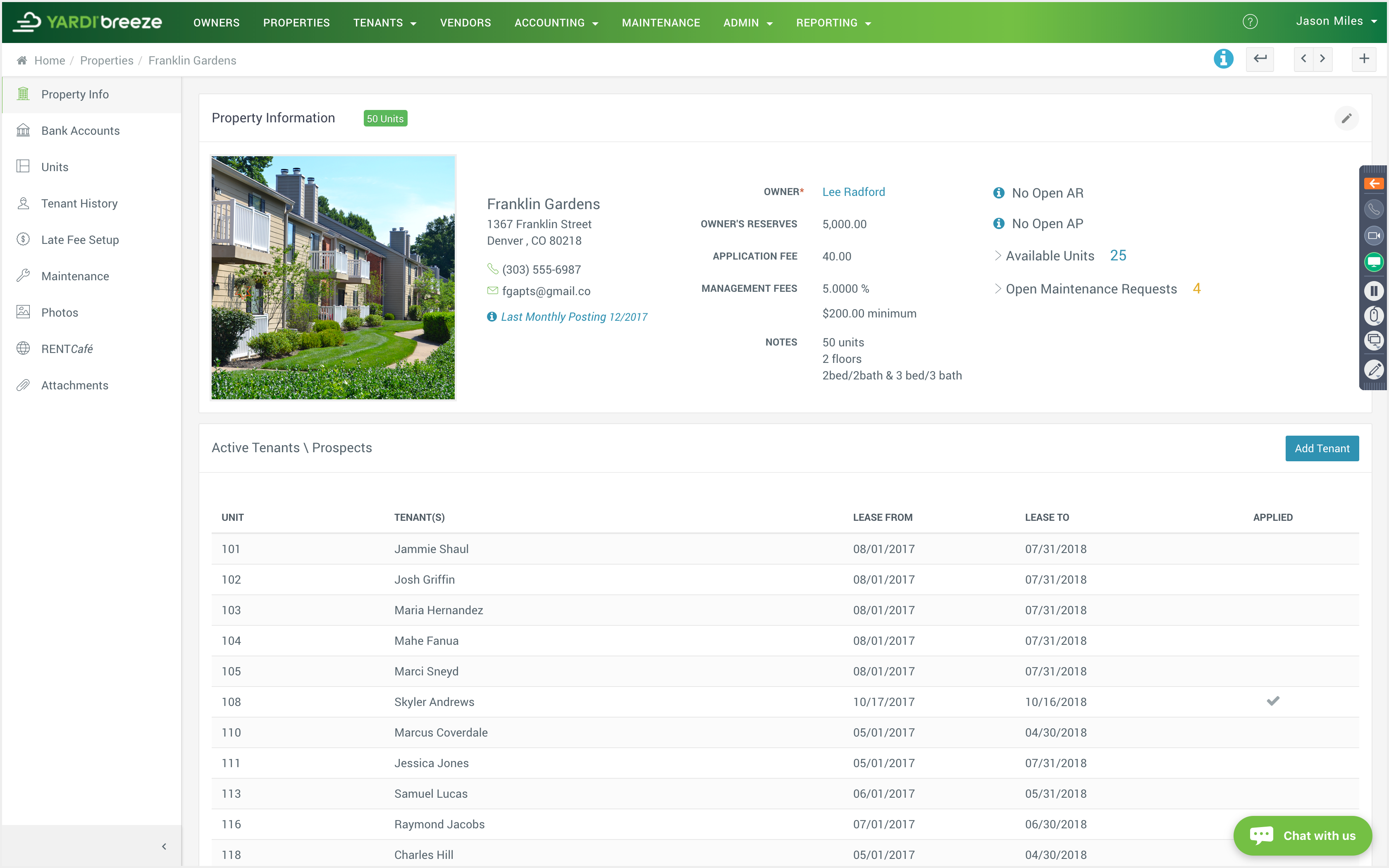 Property information
