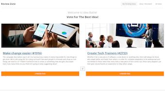 Idea voting