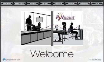 Welcome screen