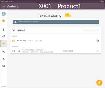 Unresolved product quality items