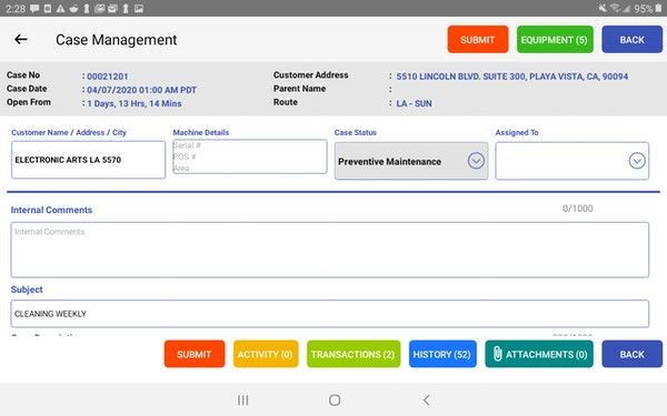 Averiware Case Management