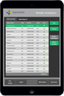 Mobile analytics report selection