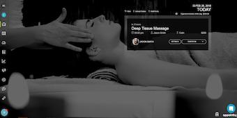 Client-facing website