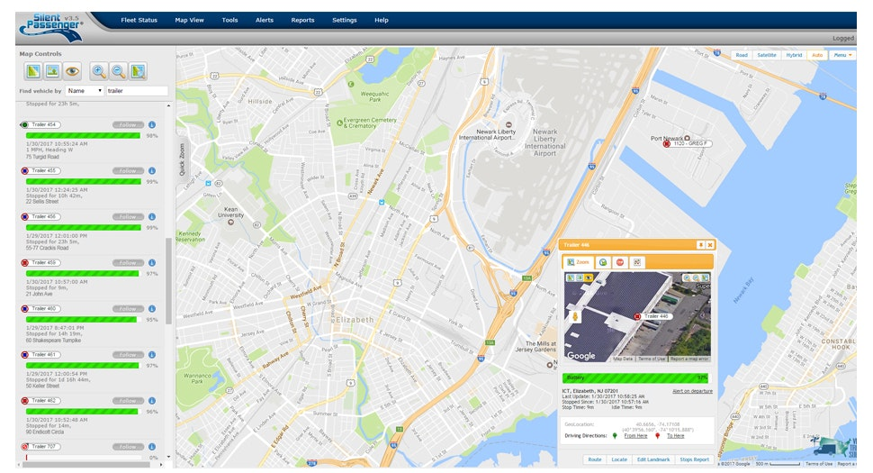 Silent Passenger - Map controls