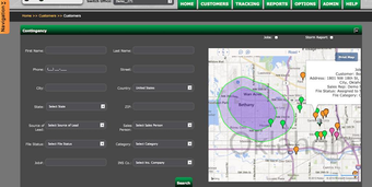 Mapping and insurance restoration features included