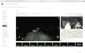 Dash-cam footage