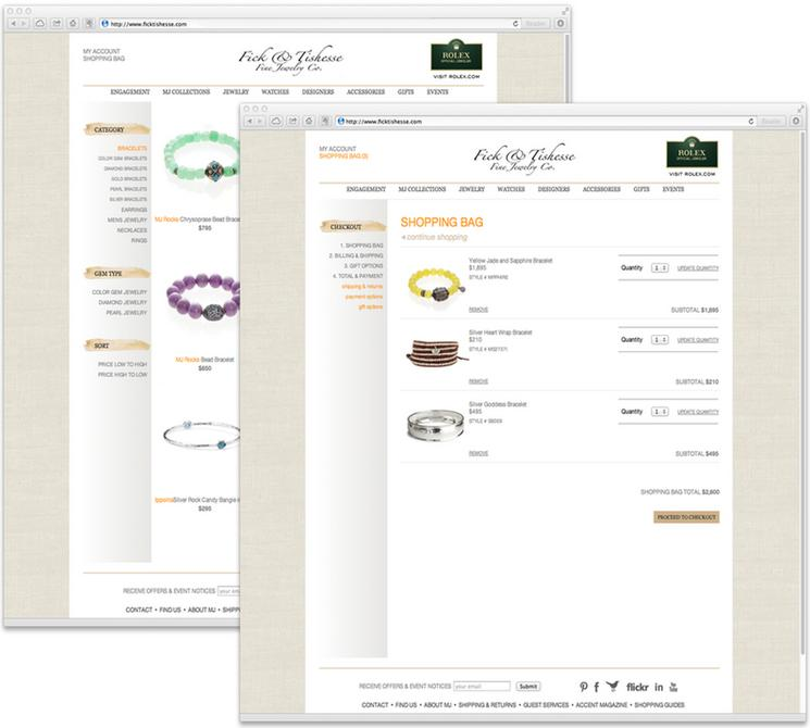 Jeweler website