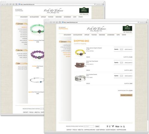 Jeweler website