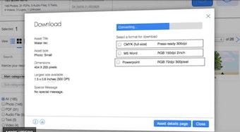 Download assets