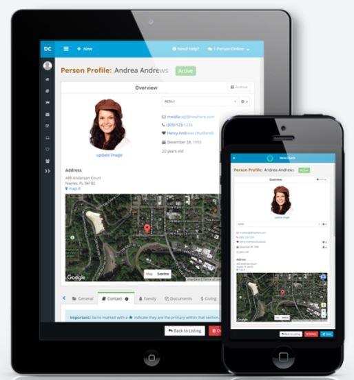 Mobile member profiles