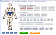 ChiroTouch - Symptom reporting