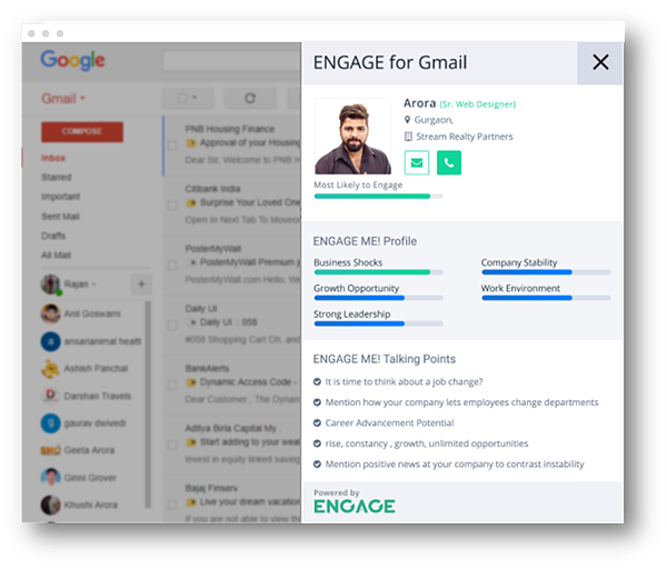 ENGAGE for Gmail