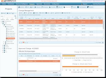 Change order management report
