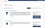 Fund list page