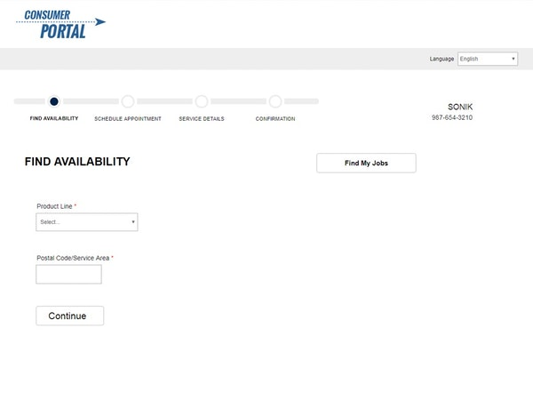 Consumer portal