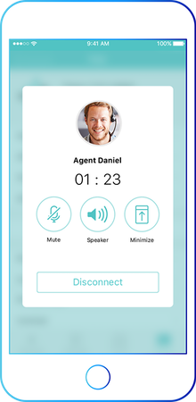 UJET mobile app