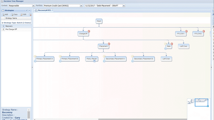 Recovery workflow