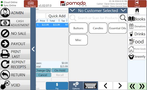 Pomodo Tech Pos Software 2019 Reviews Pricing Amp Demo