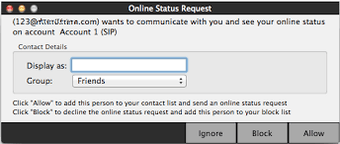 Check request status