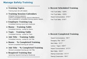 Safety training template