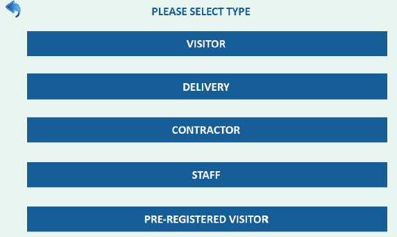 Select visitor type