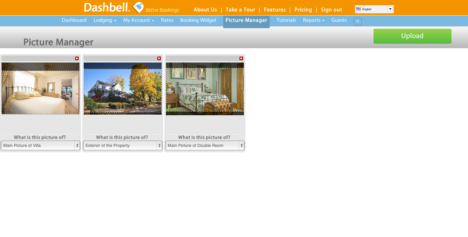 Dashbell picture manager