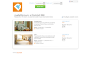 Dashbell traveler booking search page