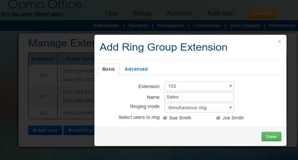 Ring groups