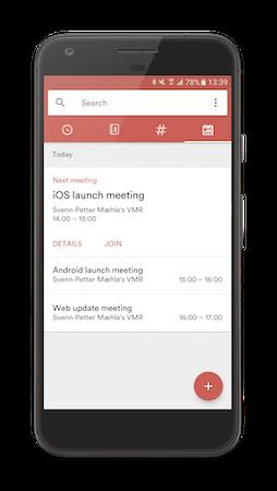 Mobile meeting