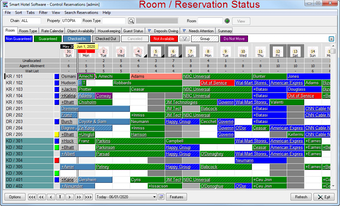 Room/reservation status