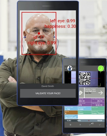 Facial login features