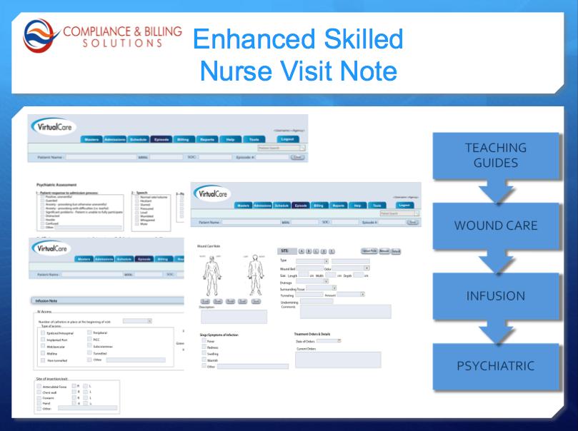 Nurse visit note