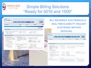 Billing solutions