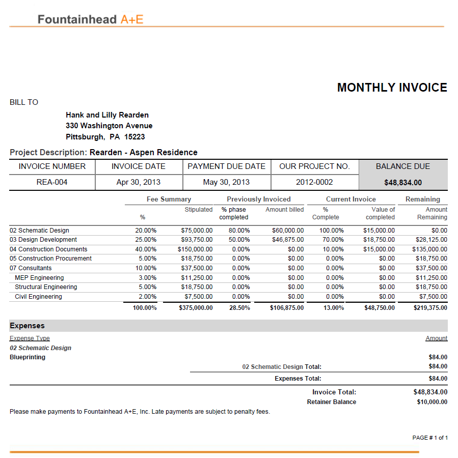 Custom Reports and Invoices