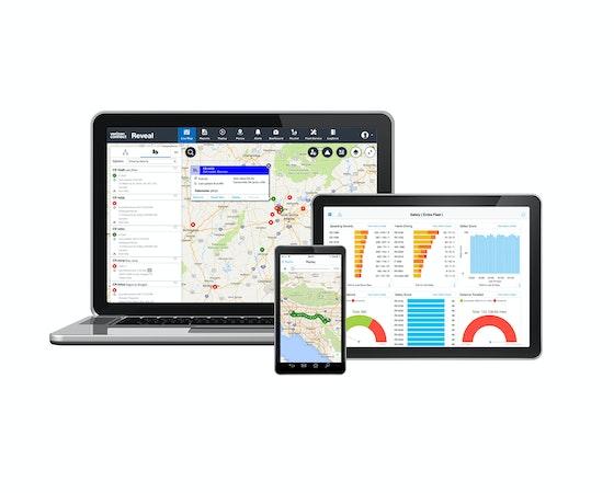 Verizon Connect Reveal track fleet location