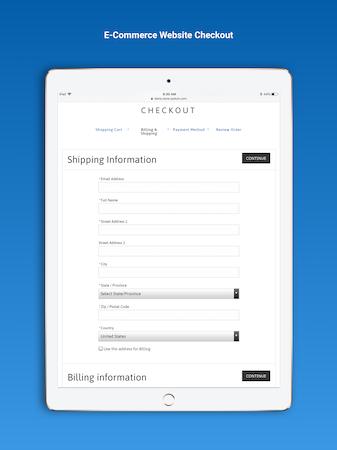 E-commerce checkout