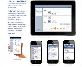 Performo iOS app example
