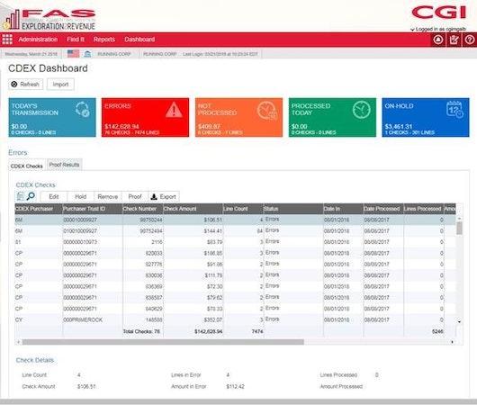 Exploration2Revenue (X2R) CDEX dashboard