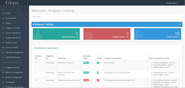 Progress tracking