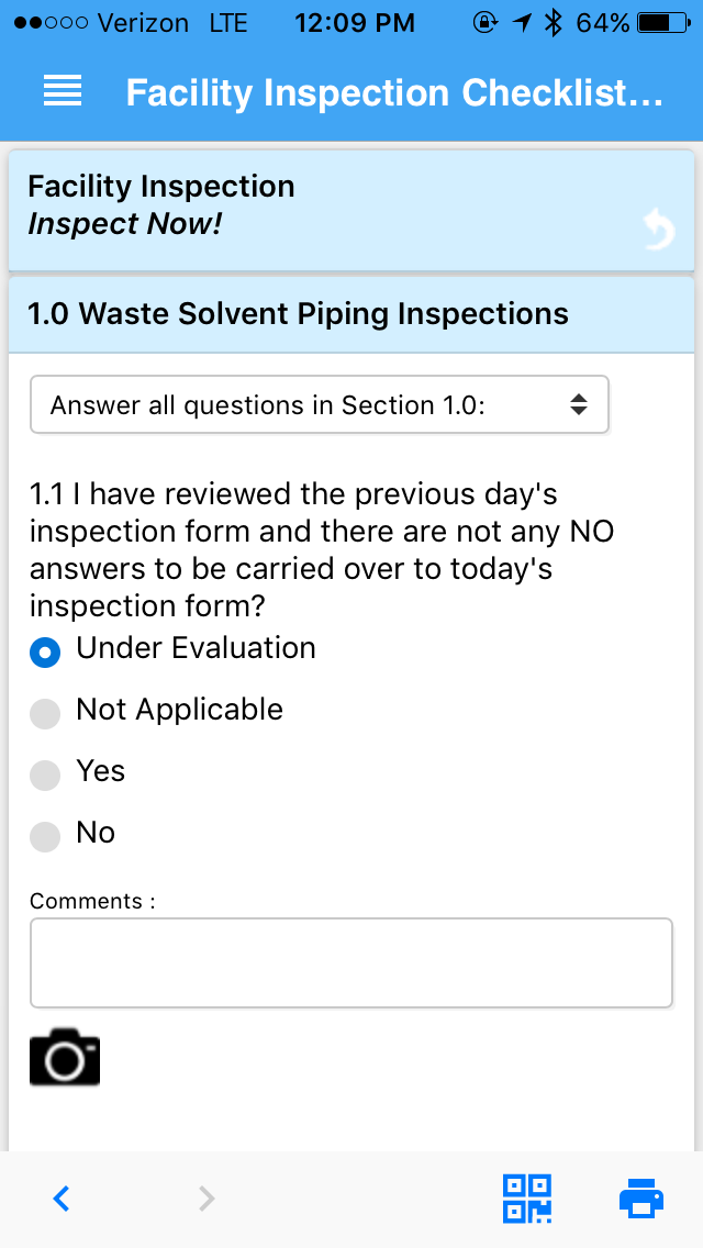 Inspection tool
