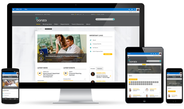 Bonzai Intranet - Multiple device access