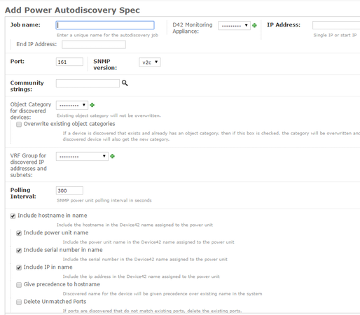 Add power autodiscovery