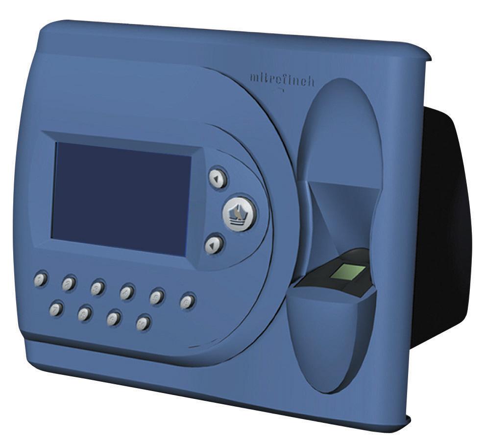 Biometric employee time clock